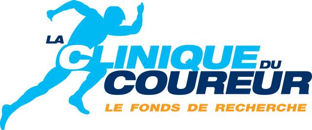 Logo Fonds de Recherche La Clinique Du Coureur